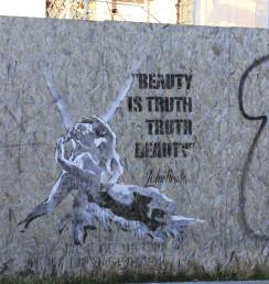Chic Words | Underground Venice | Street Art | Amore e Psiche