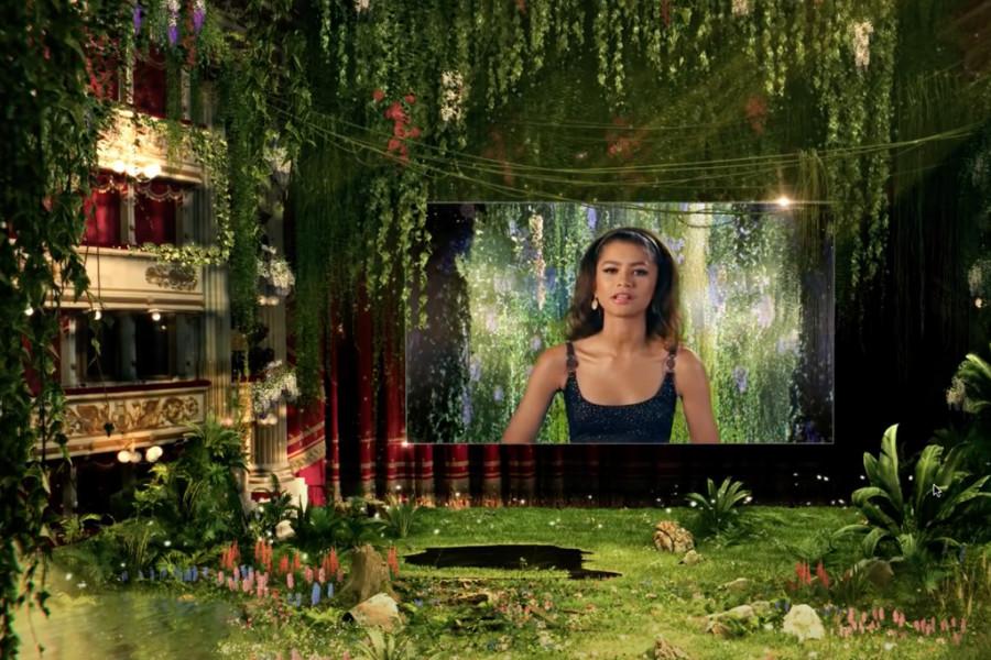 hic Words | Green Carpet Fashion Awards - Zendaya