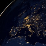 NASA Virus city lights in Italy